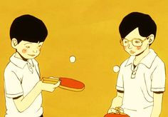 from Ping Pong The Animation