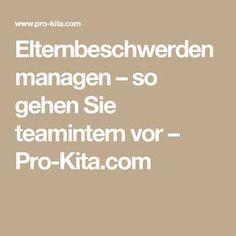 Elternbeschwerden managen – so gehen Sie teamintern vor – Pro-Kita.com