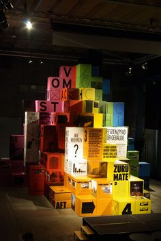 Exhibition Zurich City...boxes and types?