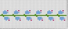 Knitting Charts, Baby Knitting, Tapestry Crochet, Knit Crochet, Native Beading Patterns, Little Cotton Rabbits, Fair Isle Pattern, Yarn Thread, Cross Stitch Borders