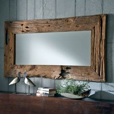 e-combuy Angebote Design Wandspiegel Spiegel Design, Designer Spiegel, Driftwood Mirror, Driftwood Furniture, Antique Furniture, Rustic Mirrors, Vintage Mirrors, Handmade Home, Farmhouse Decor