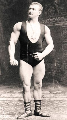 Eugen Sandow: looks a bit funny with does moustache, but hes been incredibly fit. Most important he is known as a father of modern bodybuilding and he was born in Poland Krlewiec) Vintage Circus, Vintage Men, Bodybuilder, Physique, Poster Boys, Bodybuilding Motivation, Moustache, Muscle Men, Vintage Posters