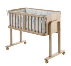 Geuther Aladin Co-Sleeping Cot (Natural) Co Sleeping Cot, Bedside Cot, Baby Co Sleeper, Aladin, Baby Deco, Ways To Sleep, Moses Basket, Baby Needs, Wood Pieces