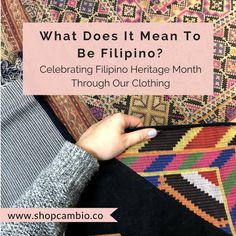 We reflect on the meaning behind Filipino Heritage Month and the heritage we're celebrating. We paid a visit to the Textile Museum of Canada, which boasts a small but well-curated lineup of Filipino indigenous textiles Filipino Art, Filipino Culture, Weaving Textiles, Weaving Art, Heritage Month, My Heritage, Filipino Interior Design, Philippines, Filipino Fashion