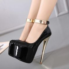 05970c0a8667 The Deidre High Heels come in a variety of sizes to cater for all those who
