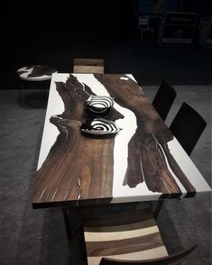 Walnut epoxy resin table with walnut epoxy consol live edge epoxy river table slab single table resin coffe table custom special firnuture Wooden Furniture, Custom Furniture, Home Furniture, Furniture Design, Furniture Ideas, Outdoor Furniture, Dining Furniture, Furniture Makeover, Furniture Dolly