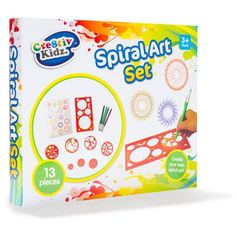 Image for Spiral Art Set+A4 from Kmart