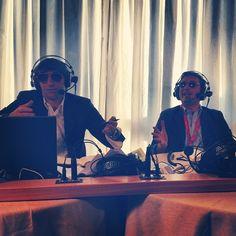Cruciani e Parenzo broadcast from International Journalist Festival 2012 in Perugia