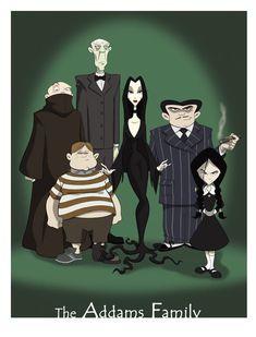 the Addams Family by ~BrianMainolfi on deviantART