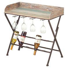 Elijah Wine Table - Coastal Table on Joss & Main