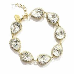 Ti Adoro Jewelry Bracelet Style 30610 in Gold and Crystal