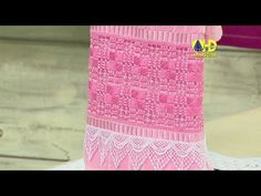 Vida com Arte | Toalha Bordada com Ponto Crivo por Leila Jacob - 03 de Junho de 2014 - YouTube