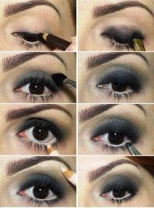 Maquiagem Preta Passo a Passo