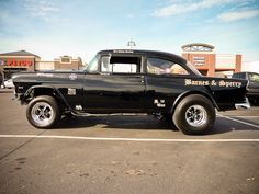 1955 Chevy Gasser, 502ci 4bbl/NOS big block and TH400 Auto