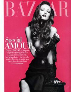 Alex Sandor - Harper's Bazaar Romania - Special Amour by Oltin Dogaru