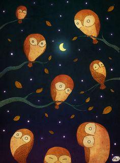 night owls.