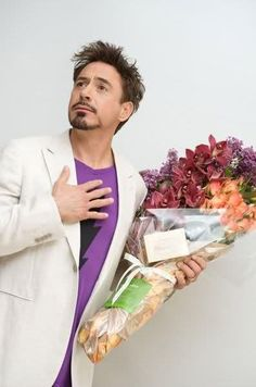 Oh Robert..... Are those for me? You're so sweet.