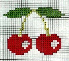 Thrilling Designing Your Own Cross Stitch Embroidery Patterns Ideas. Exhilarating Designing Your Own Cross Stitch Embroidery Patterns Ideas. Cross Stitch Fruit, Cross Stitch Kitchen, Mini Cross Stitch, Cross Stitch Charts, Cross Stitch Designs, Cross Stitch Patterns, Cross Stitching, Cross Stitch Embroidery, Embroidery Patterns