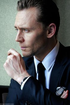 Tom Hiddleston. (Edit by larygo.tumblr)