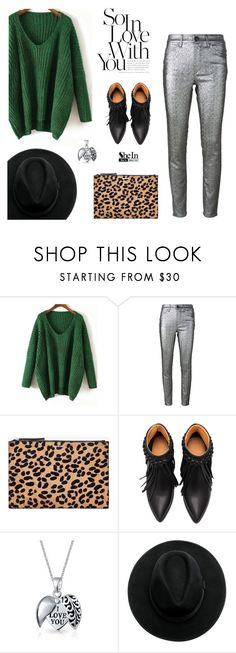 """Green Sweater"" by theoni2009 ❤ liked on Polyvore featuring Isabel Marant, McQ by Alexander McQueen and Bling Jewelry"