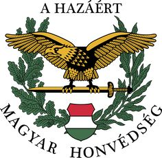 Military Coat of Arm of the Hungarian Defence Forces Soldier Tattoo, Military Units, Defence Force, Home Defense, Red Army, Insurgent, Coat Of Arms, Armed Forces, Rooster