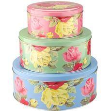 Royal rose cake tins