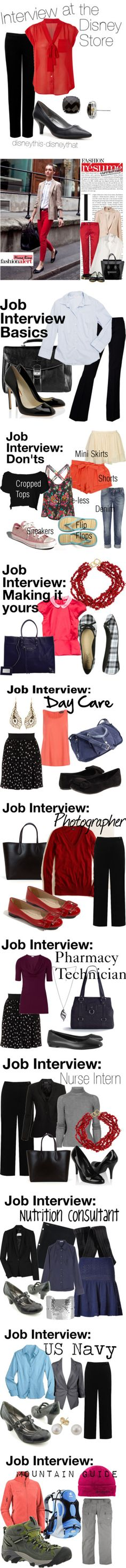 """How to Dress for a Job Interview"" by lulusartshack ❤ liked on Polyvore"