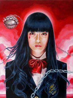 Gogo Yubari - Kill Bill by Edith Lebeau
