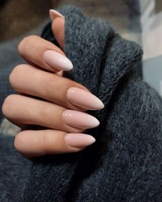 """If you're unfamiliar with nail trends and you hear the words """"coffin nails,� what comes to mind? It's not nails with coffins drawn on them. It's long nails with a square tip, and the look has. Glitter Manicure, Manicure Y Pedicure, Nude Nails, Pink Nails, Coffin Nails, White Nails, Sparkle Nails, Acrylic Nails, Gel Ombre Nails"""