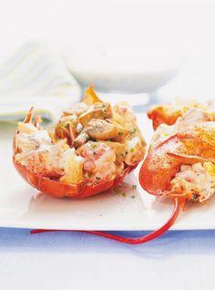 Ricardo's Recipe : Island Lobster Newburg