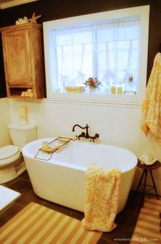 Master Bathroom Makeover from Farmhouse38