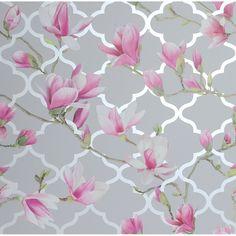 Wallpaper Paste, Paper Wallpaper, Pink Wallpaper, Wallpaper Roll, Wall Wallpaper, Bathroom Wallpaper, Iphone Wallpaper, Trellis Design, Trellis Pattern