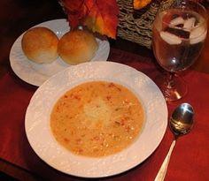 Tomato Basil Parmesan Soup by anewagegirl