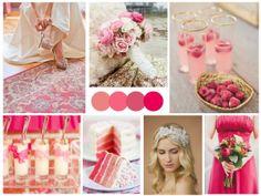 Raspberry & Gold Wedding Inspiration