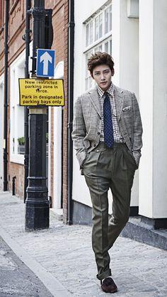 Ji Chang Wook Just remember that we lay under the same stars 💓🌃 Asian Actors, Korean Actors, Korean Dramas, Korean Actresses, Korean Star, Korean Men, Kpop, Ji Chang Wook Healer, Ji Chan Wook