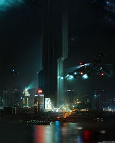 """Cyberpunk thread - """"/tg/ - Traditional Games"""" is imageboard for discussing traditional gaming, such as board games and tabletop RPGs. Ville Cyberpunk, Cyberpunk City, Futuristic City, Sci Fi Fantasy, Fantasy World, Space Opera, Sci Fi City, Sci Fi Environment, City Painting"""