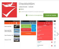 https://play.google.com/store/apps/details?id=hu.lk.checklist4sim BREAKING NEWS!! Helló! This is a new flight simulator called Checklist4Sim.You can download from Google play app. I recommend who like airplanes and simulator. Let's play. This is perfect app.