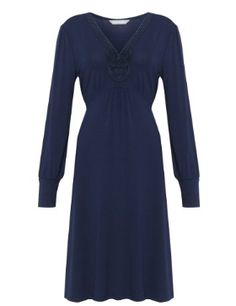 M&S Collection Cornelli Neckline Dress £39.50