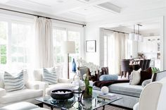 Hamptons style living area