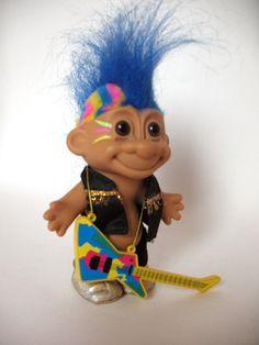 troll dolls | Vintage Punk Rocker Russ Troll Doll by VintageMyHeart on Etsy