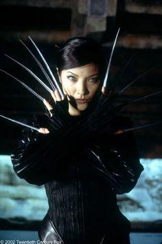 Yuriko Oyama / Lady Deathstrike - Kelly Hu in (X-Men Female Movie Characters, Marvel Characters, Marvel Movies, Marvel Villains, Kelly Hu, X Men, Boss Music, Lady Deathstrike, Shu Qi