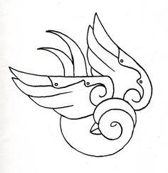 Sparrow Line Art by ExodusProxy on DeviantArt