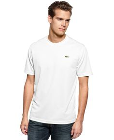 01476bb7 Lacoste Men's Sport Short Sleeve Super Dry T-Shirt & Reviews - T-Shirts -  Men - Macy's