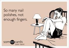 So many polishes...