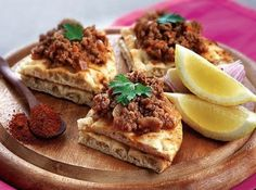 armenian food recipes with pictures | Armenian recipe - Lahmacun or Lahmajo