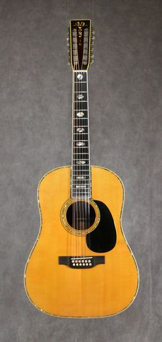 Martin D12-45 (1971) : owned by Stephen Stills
