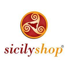 """Il nuovo marchio """"Sicilyshop"""" negozio online di prodotti tipici siciliani. www.sicilyshop.com"""