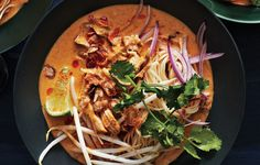 Chicken Khao Soi A simple curry paste gives this northern Thai–inspired soup surprising depth of flavor. Recipe by Ravin Nakjaroen, Long Grain, Camden, ME