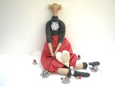 Tilda doll Susie-gift for girlsTildaDollGift for by LyuToys