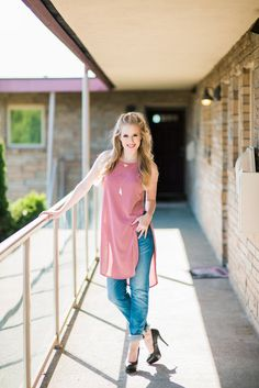 We love tunics and boyfriend jeans! Our Kut from the Kloth jeans come in a variety of styles and colors and are so comfortable. Email likalovefashion@gmail.com or call us at 206-384-1710 for details!